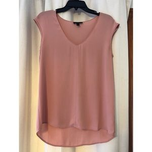 J. Crew Silky Sheer Peach Top